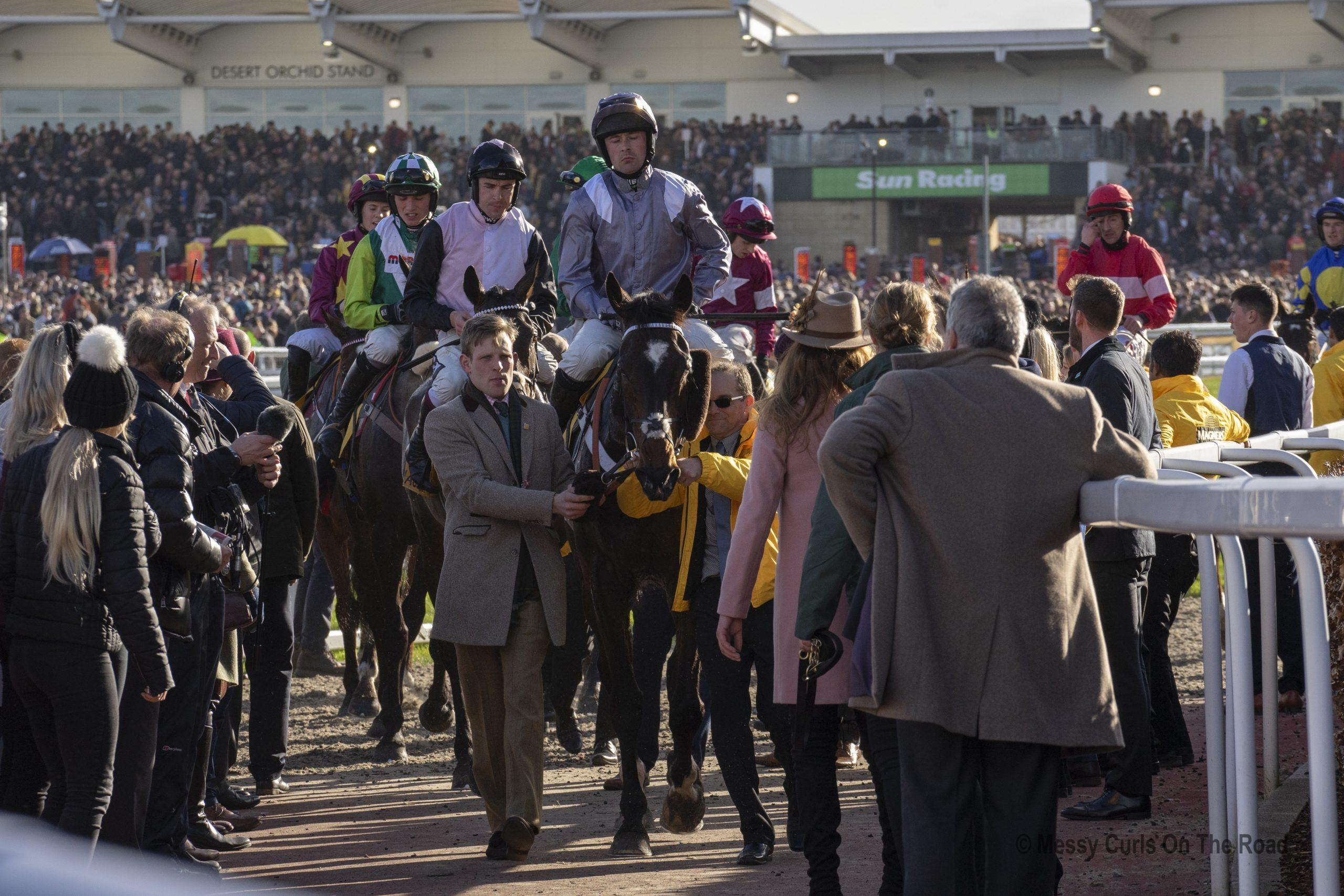 Gold Cup day at Cheltenham Racecourse