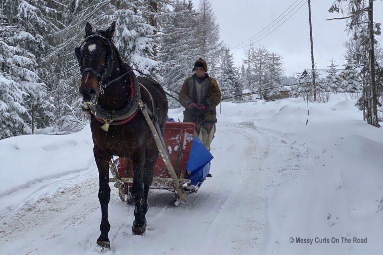 Winter's magical atmosphere in Zakopane